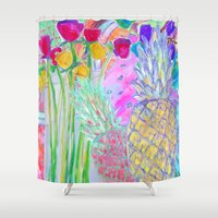 fancy Shower Curtains featuring FANCY  by Happy as Flynn