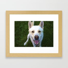 Happy Face Framed Art Print