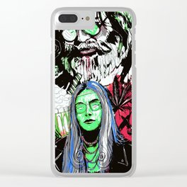 The Missing Finger of J Garcia 4 Clear iPhone Case