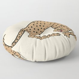 Cheetah Floor Pillow