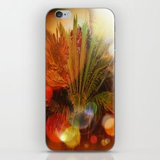 Tropical plants and flowers iPhone Skin