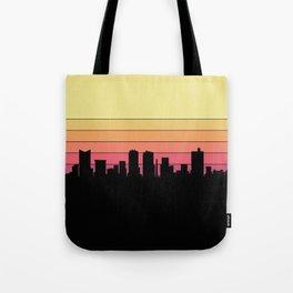 Fort Worth Skyline Tote Bag