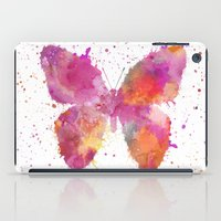 artsy iPad Cases featuring Artsy Butterfly by LebensART