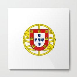 Portuguese Flag (Bandeira Portuguesa) Metal Print