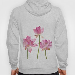 Lotos Waterlilies Flowes pink Hoody