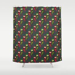 Hot Diggity! Shower Curtain