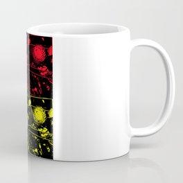 Pop Art Helicyrsum flowers Coffee Mug