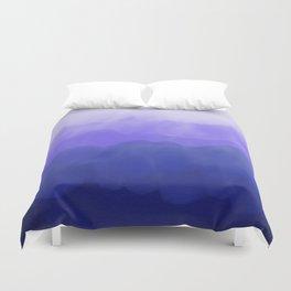 Blue Ombré Wash Duvet Cover
