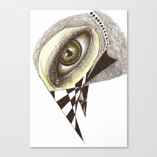 The Bird's Eye Canvas Print