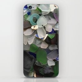 Sea Glass Assortment 3 iPhone Skin