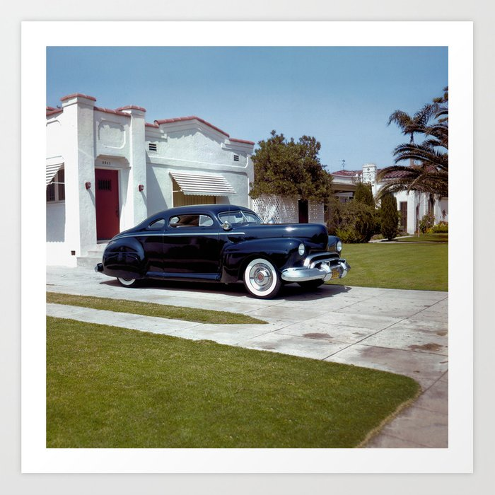 Marcia Campbell '42 Coupe Art Print