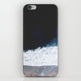 Ocean III (drone photography) iPhone Skin