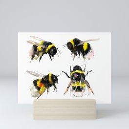 Bumblebee, Bee art, bee design, bees Mini Art Print