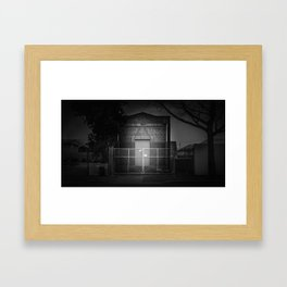 The Christchurch Electricity Substation Project XXII Framed Art Print