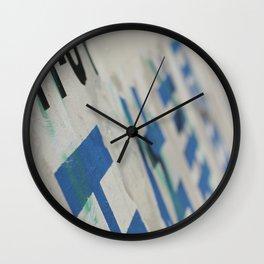 Chinatown Wall Wall Clock