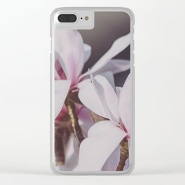 Magnolie_2 Clear iPhone Case