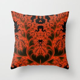 Parisian Nightclub Throw Pillow