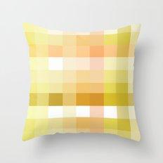 Pixelate Sunshine Throw Pillow