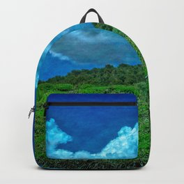 The Great Outdoors by Dee Flouton Backpack