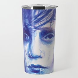 Edward Scissorhands Watercolour Travel Mug