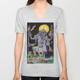 Goddess Kali Unisex V-Neck