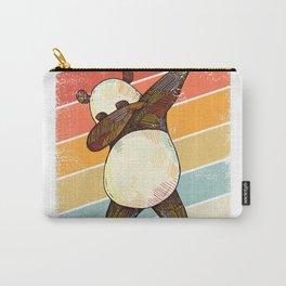 Dabbing Panda Vintage Pandas Dab Dance Retro Graphic Kids T-Shirt Carry-All Pouch