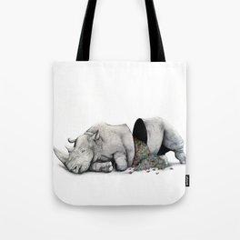 Rhino Slumber Tote Bag