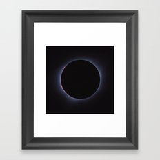 Totality - Solar Eclipse Framed Art Print