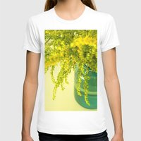 golden T-shirts featuring Golden by Olivia Joy StClaire
