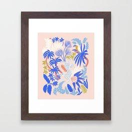 Rainforest Leopard Framed Art Print