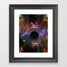 Wall of Space Framed Art Print