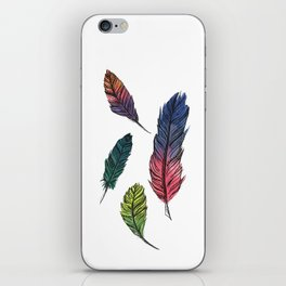 Four Feathers iPhone Skin