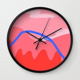 Abstract Paris Wall Clock