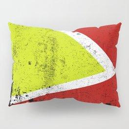 Rusty abstract art Pillow Sham