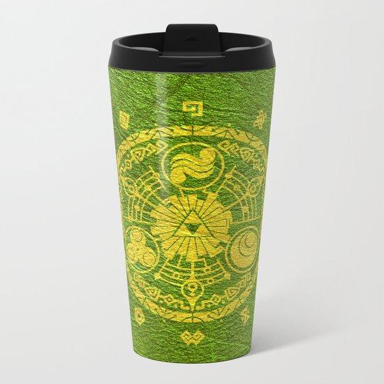 Tri Force Metal Travel Mug
