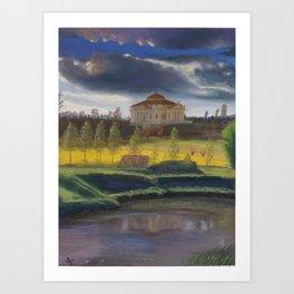 "Villa ""La Rotonda"" by Andrea Palladio Art Print"