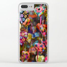 Colors of Mexico Clear iPhone Case
