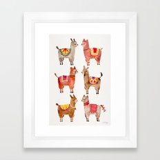 Alpacas Framed Art Print