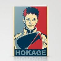 naruto Stationery Cards featuring Naruto - Hokage by KingSora