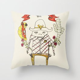 A New Sheriff's In Town Throw Pillow