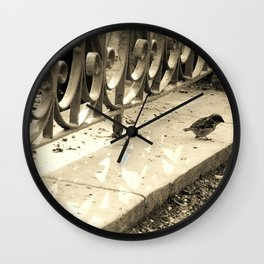 Oiseau Wall Clock