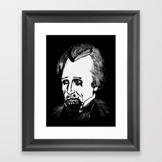 07. Zombie Andrew Jackson  Framed Art Print