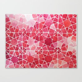 Red Morocco Canvas Print