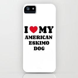 American Eskimo Dog iPhone Case