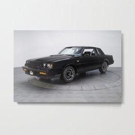 1987 Grand National Muscle Car Metal Print