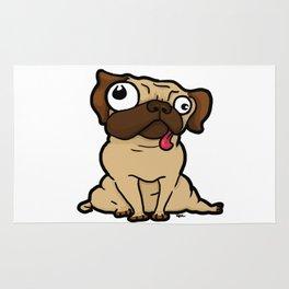 Dopey Pug Rug
