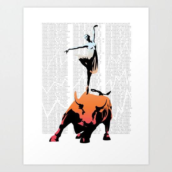bullerina Art Print