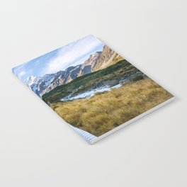 Mt.Cook New Zealand - A hikers dream Notebook