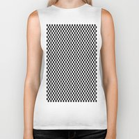 chess Biker Tanks featuring Chess Board by ArtSchool