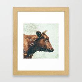 Portrait of Bess Framed Art Print